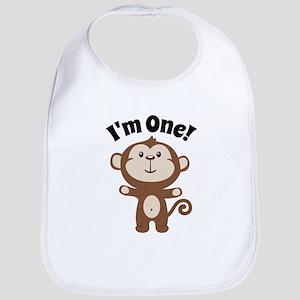 Monkey Im 1 Bib