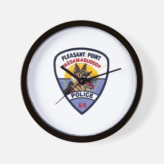 Pleasant Point PD K9 Wall Clock