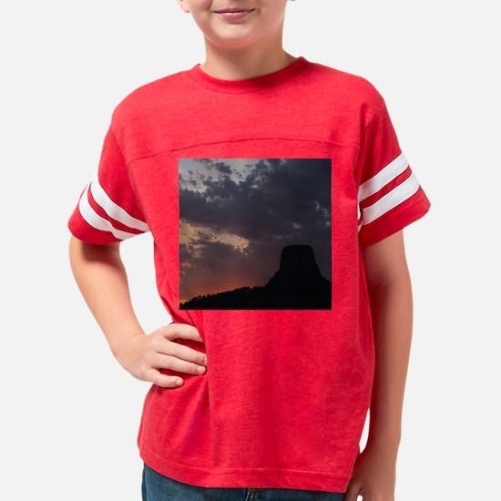 Towering Sunset Youth Football Shirt