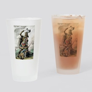 The Indian warrior - 1845 Drinking Glass