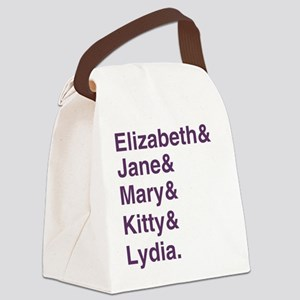 Bennet Sisters Canvas Lunch Bag