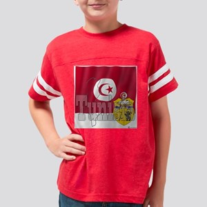 CT-02-TN-001-WH Youth Football Shirt