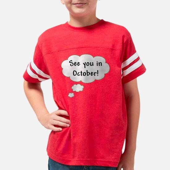 3-october Youth Football Shirt