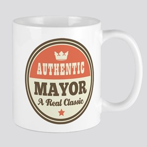 Mayor Funny Vintage Mug