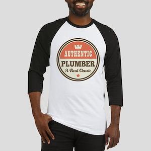 Plumber Vintage Baseball Jersey