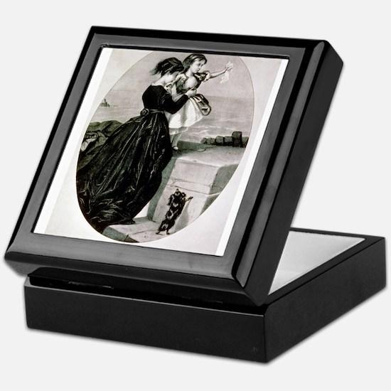 The farewell - 1856 Keepsake Box