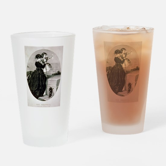 The farewell - 1856 Drinking Glass