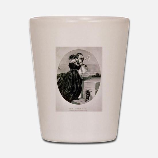 The farewell - 1856 Shot Glass