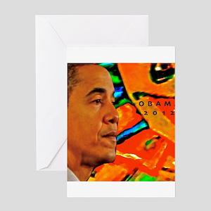 Cool Obama Greeting Card