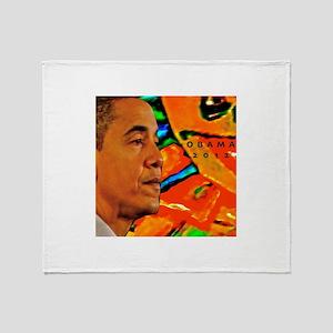 Cool Obama Throw Blanket