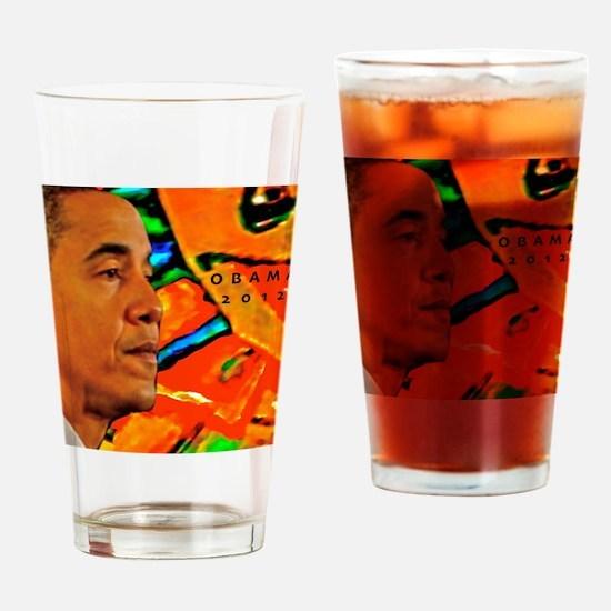 Cool Obama Drinking Glass