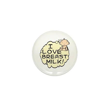 I Love Breast Milk (button) Mini Button