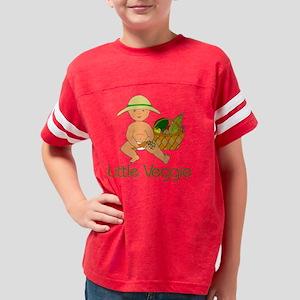 Little Veggie Med Skin Youth Football Shirt