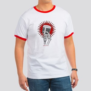 Rockabilly Microphone Ringer T