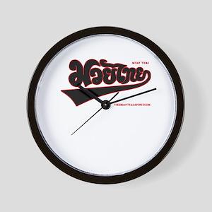Team Muay Thai V2.0 Wall Clock