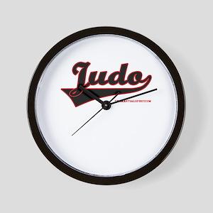 Team Judo Wall Clock