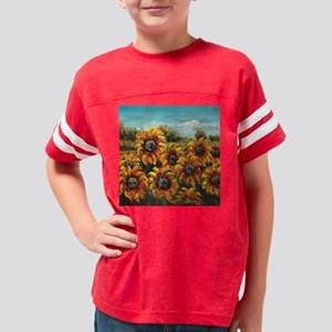 Country Sunflower Youth Football Shirt