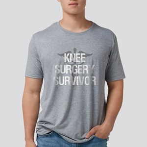 Knee Surgery Survivor Mens Tri-blend T-Shirt