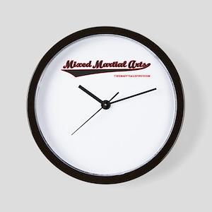 Team Mixed Martial Arts Wall Clock