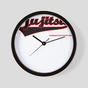 Team Jujitsu Wall Clock