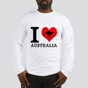 I Love Australia Long Sleeve T-Shirt