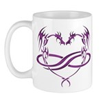 Purple Polydragon Mug