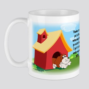 Under My Own Woof! Mug