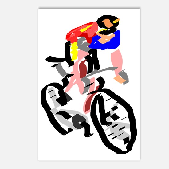Cyclist Postcards (Package of 8)