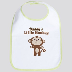 Daddys Little Monkey Bib
