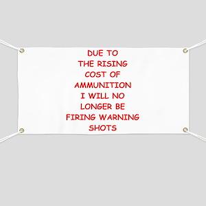 WARNING Banner