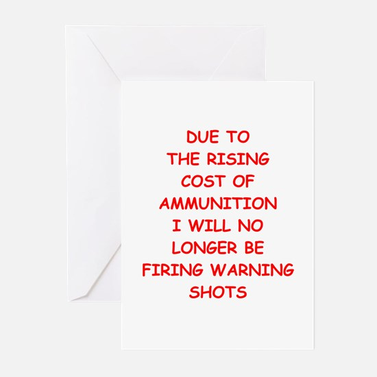 WARNING Greeting Cards