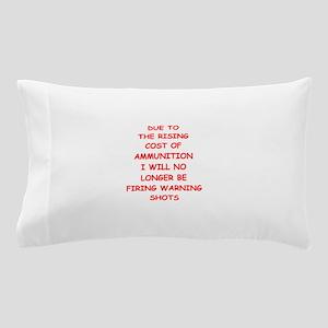 WARNING Pillow Case