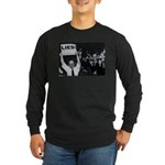 Lies -- Yeah! Long Sleeve Dark T-Shirt