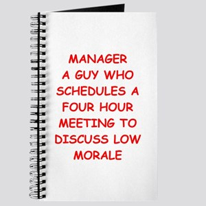 manager Journal
