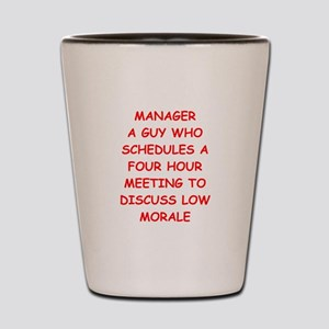 manager Shot Glass