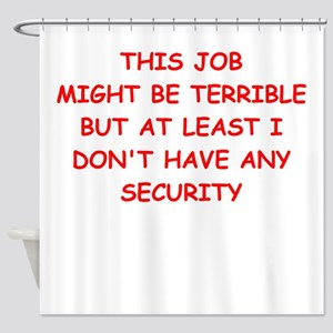 job Shower Curtain