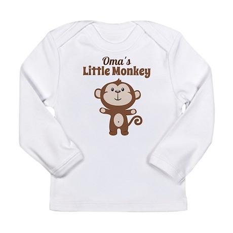 Omas Little Monkey Long Sleeve T-Shirt