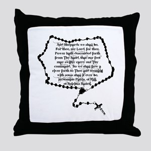 Boondocks Prayer Throw Pillow