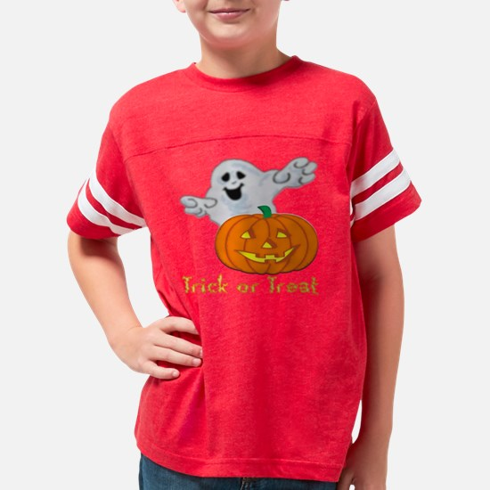 Trick or Treat TD Youth Football Shirt