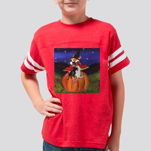 halloween hugs Youth Football Shirt