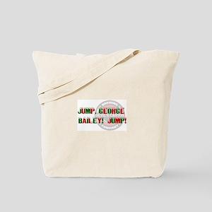 Jump, George! Tote Bag