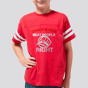 Chucks Kids Youth Football Shirt