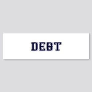 Debt Bumper Sticker