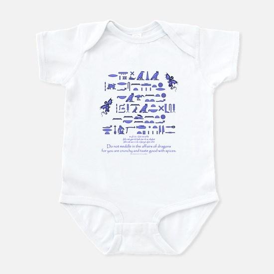 Affairs of Dragons (Egyptian) Infant Bodysuit