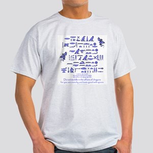 Affairs of Dragons (Egyptian) Light T-Shirt