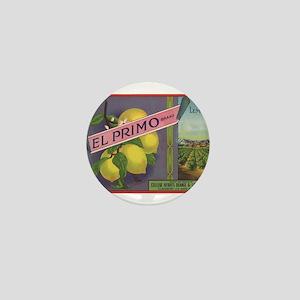 Vintage Fruit Vegetable Crate Label Mini Button