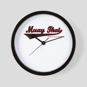 Team Muay Thai V1.0 Wall Clock