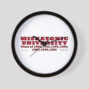 Miskatonic Univ. Wall Clock