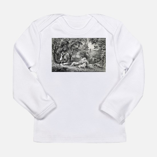 Partridge shooting - 1865 Long Sleeve Infant T-Shi