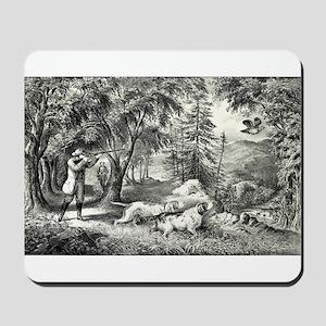 Partridge shooting - 1865 Mousepad